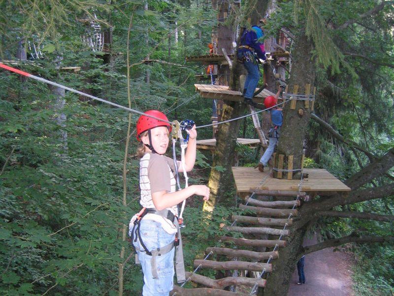 Klettergurt Für Hochseilgarten : Stadt triberg natur hochseilgarten